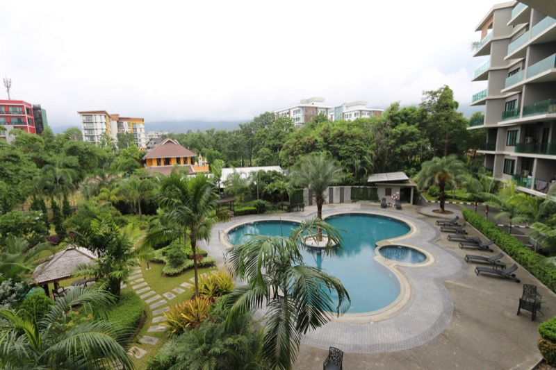 Condo with one bedroom and spacious living room in Chang Pheuk area, Chiangmai-10